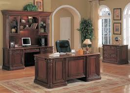 Executive Office Furniture Executive Office Desk Solid Wood U Shaped And Credenza Best For