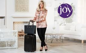 Wisconsin Traveling Suitcase images Joy mangano luggage travel accessories hsn jpg
