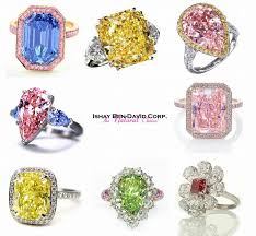coloured rings jewelry images Natural diamond colors ender realtypark co jpg