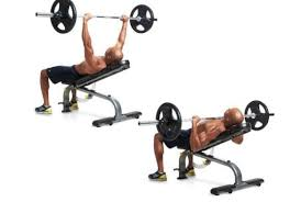 Flat Bench Barbell Press Incline Barbell Bench Press