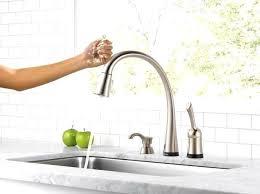 delta touch kitchen faucets delta touch kitchen faucet espan us
