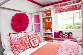 Pink And Orange Bedroom Astounding Minimalist Purple And Orange Teen Bed Levels With