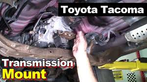 2004 toyota tacoma transmission mount and carrier bearing youtube