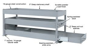 Ford Transit Connect Shelving by Pull Out Shelving Shelf Shelving Pullout Pullout Shelving