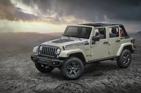 jeep black rubicon taller more rugged jeep wrangler rubicon recon coming to a trail
