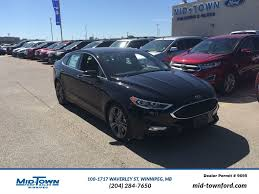 ford fusion 2017 ford fusion sport awd 4 door car in winnipeg 17p0v03