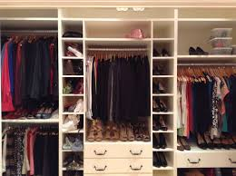 bedroom ideas amazing small white cool walk in closet