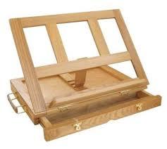 best art supply artist wood tabletop desk sketch box french easel