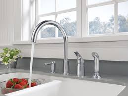 Peerless Kitchen Faucets by Peerless P188900lf Sssd Apex Single Handle Widespread Kitchen
