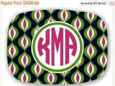 monogrammed platters and trays personalized melamine platter monogram easter bible verse tray