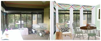 makeover monday jesse u0027s sunroom u2013 grocery shrink
