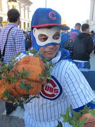 fans wear their cubs best to celebrate the world series bleader