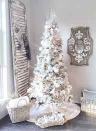 White Christmas Tree Decorated Best 25 White Christmas Trees Ideas On Pinterest White