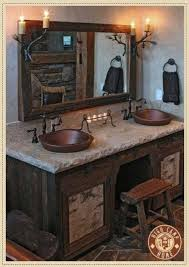 Lodge Style Bathroom 7 Best Cabin Fever Images On Pinterest Architecture Cabin