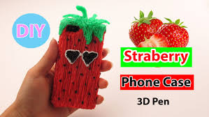 27 best 3doodler creations by 3d pen art how to make strawberry phone case diy by creative