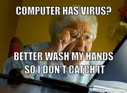 Virus Memes - old woman computer meme woman best of the funny meme