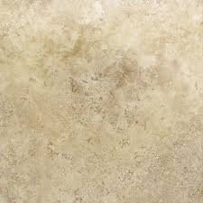 cryntel 18 in x 18 in romastone travertine finish vinyl tile