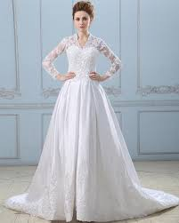 wedding dress jacket ariel satin lace mandarin collar chapel a line bridal gown wedding