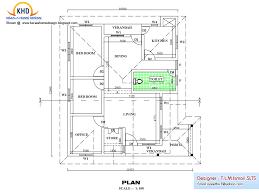 guest house floor plans 500 sq ft single floor house plan elevation kerala home home building