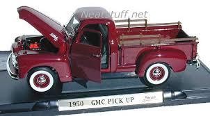 toy cars gmc cars u0026 trucks 1950 pick up