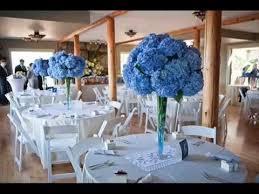 wedding table decorations ideas blue wedding decorations for the tables party decor table