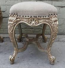 pair of french rococo style benches melissa levinson antiques