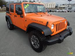 orange jeep wrangler 2013 crush orange jeep wrangler unlimited rubicon 4x4 77819876