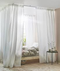 ikea pine bed canopy bed curtains wtih vidga