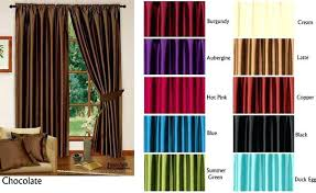 Faux Silk Embroidered Curtains Pink Faux Silk Curtains 100 Images George Home Silver Faux