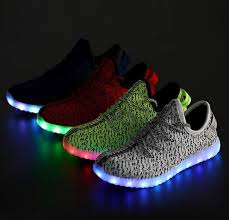 ladies light up shoes led sneakers men led shoe women light up loafers luxury brand ladies