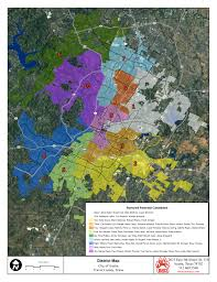 Map Of Austin Neighborhoods by Building Atx Buildingatx Exclusive City Council District Map
