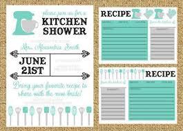 Kitchen Shower Ideas Stock The Kitchen Bridal Shower Invitation Kitchen Shower Kitchen