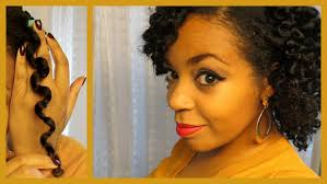 short straw set hairstyles heatless waves on natural hair using straws youtube