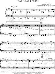 lyrics cadillac ranch chris ledoux cadillac ranch sheet in e major