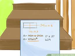 Rug For Stairs Steps How To Calculate Carpet On Stairs 8 Steps With Pictures