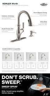 no water pressure in kitchen faucet kohler elate faucet repair k 1176828 vs kohler kitchen faucet low