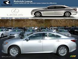 lexus es 350 silver 2014 silver lining metallic lexus es 350 88255777 gtcarlot com