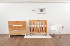 Alma Bloom Mini Crib Alma Mini Solid Wood Crib Bloom