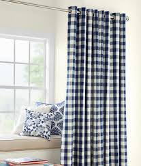 Blue Buffalo Check Curtains Buffalo Check Grommet Top Curtains Country Curtains Pinteres