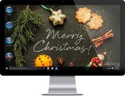 merry christmas theme for windows 10