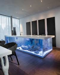 floating island kitchen kitchen floating island is a aquarium justpost