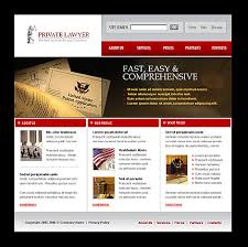 website template 11821 law private lawyer custom website template