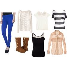 What Goes Well With Blue What To Wear With Blue Leggings And Brown Uggs Polyvore