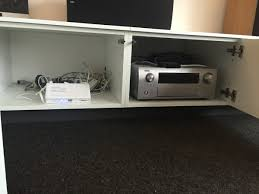 fridge top cabinets hacked into tv console ikea hackers ikea
