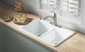 Cast Iron Kitchen Sinks by Kitchen Cast Iron Kitchen Sinks Intended For Leading Kitchen
