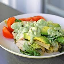 avocado blue cheese dressing recipe pinch of yum