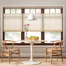 Dining Room Window Coverings Custom Interior Custom Top Down Bottom Up Shades For Kitchen Windows