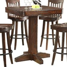 Bar Height Dining Room Sets E C I Furniture Gettysburg Dining Pub Table Wayside Furniture