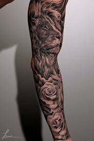 36 black and grey sleeve tattoos