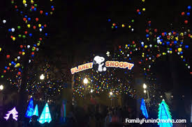 charlie brown christmas lights amazing winterfest holiday experience at worlds of fun family fun